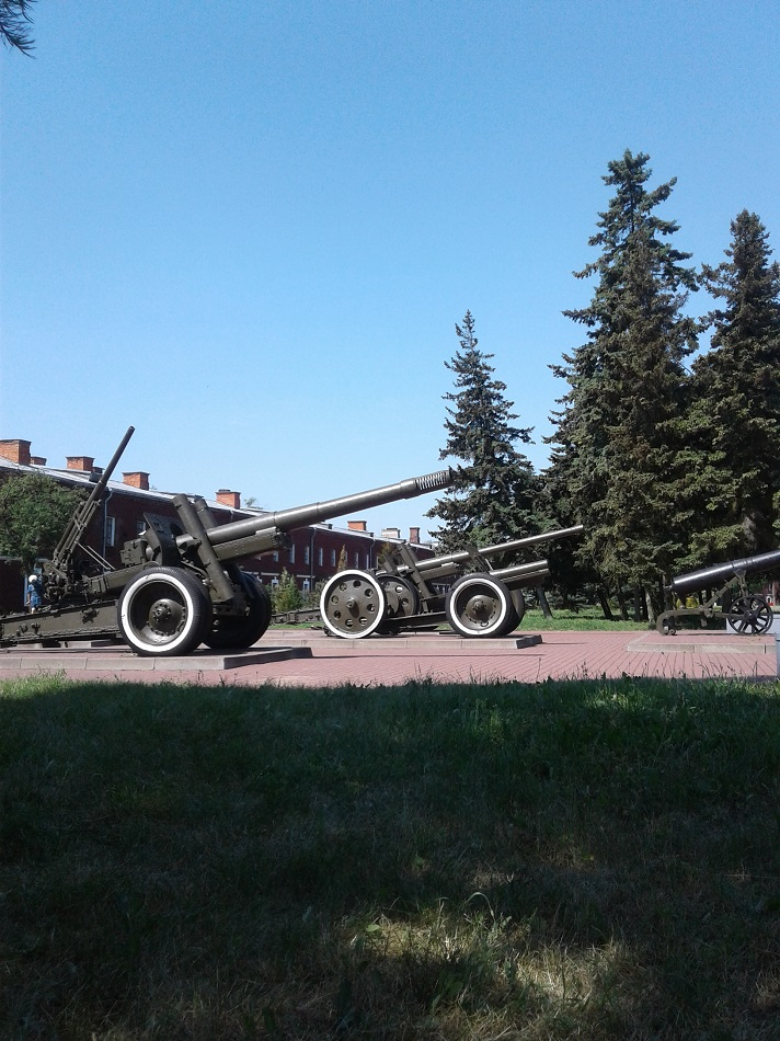 Брест Крепость пушки