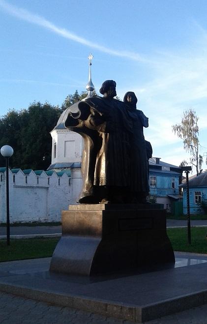Святые князь Петр и княгиня Феврония